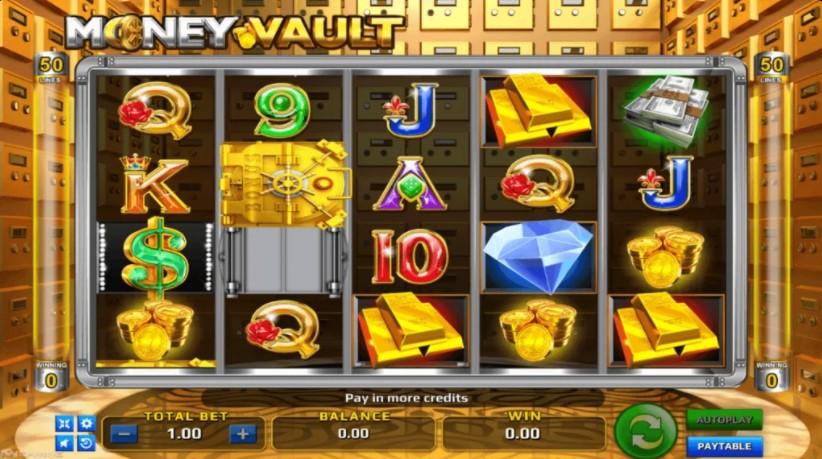 รีวิวเกมสล็อต-Money-Vault