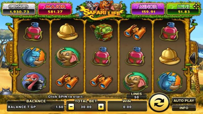 safari-life-เกมสล็อต