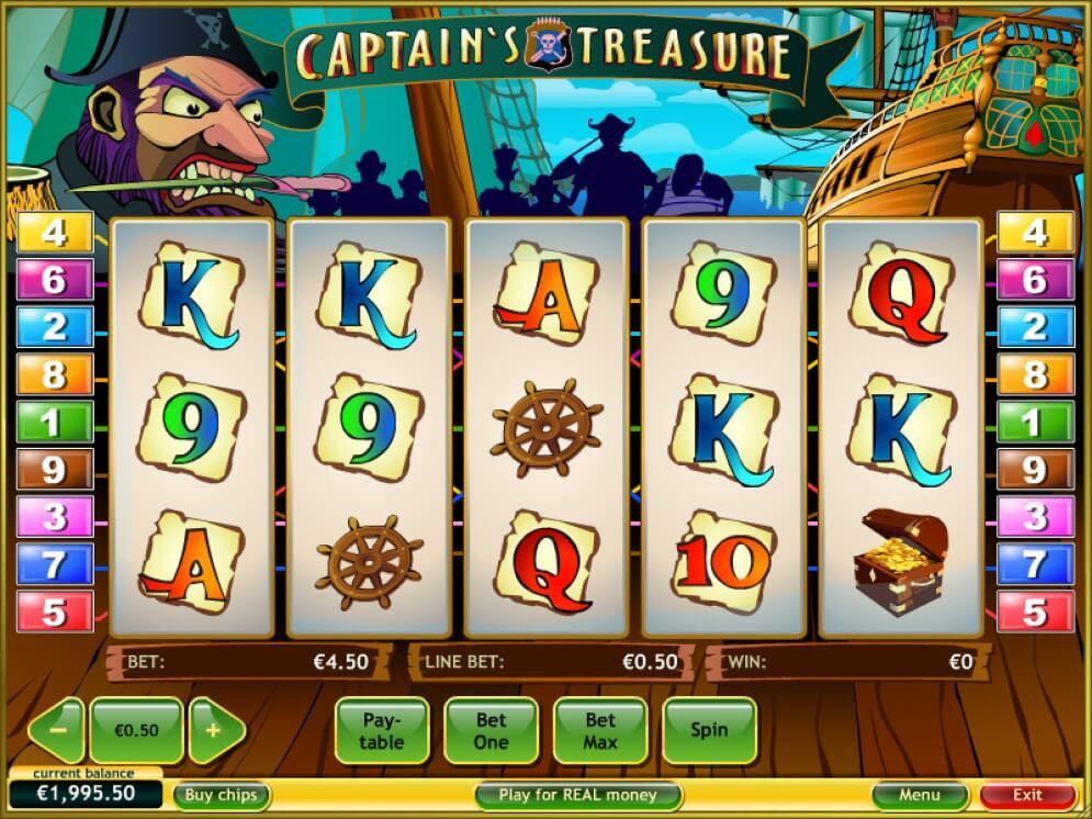 slotxo Captain Treasure