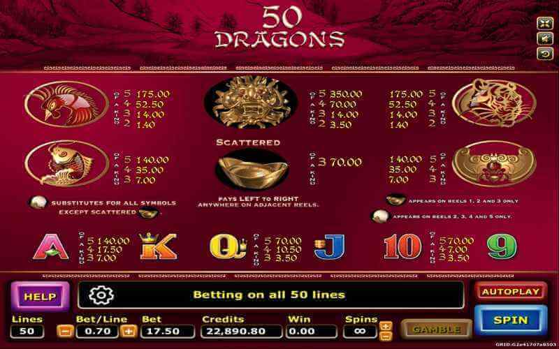50 Dragons 3