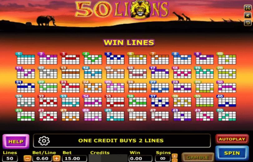 50 Lions 3