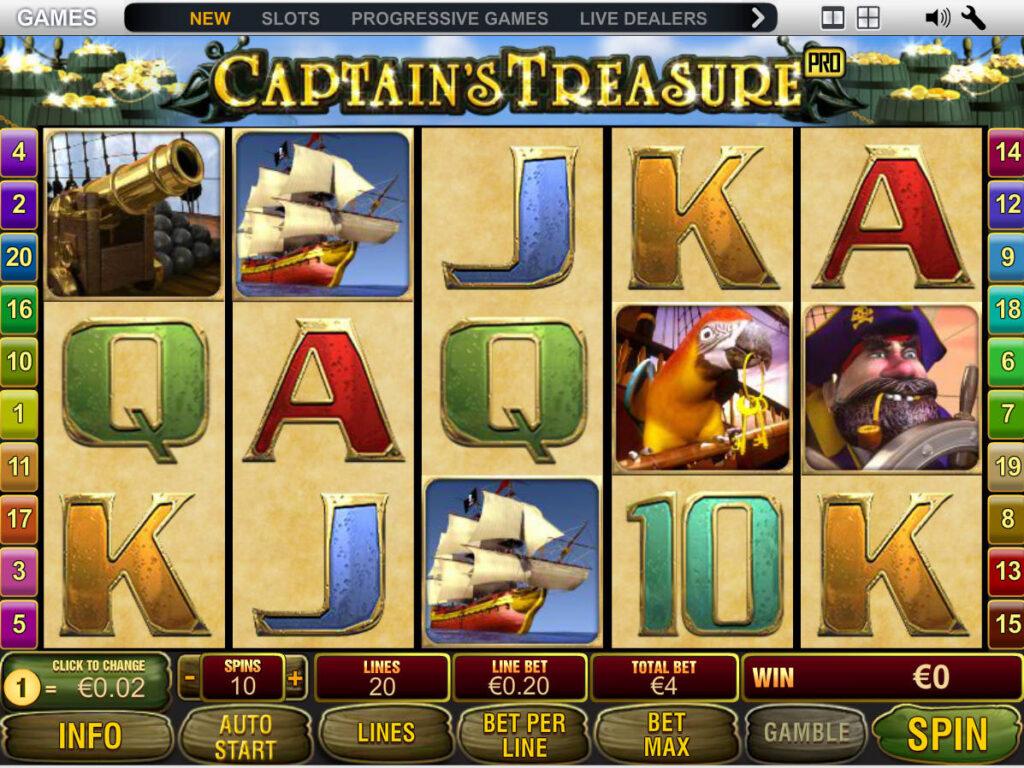 Captain Treasure 3
