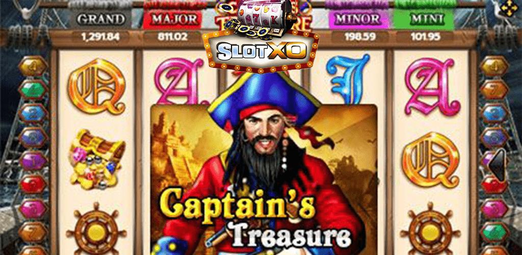 Captains Treasure หน้าปก 2