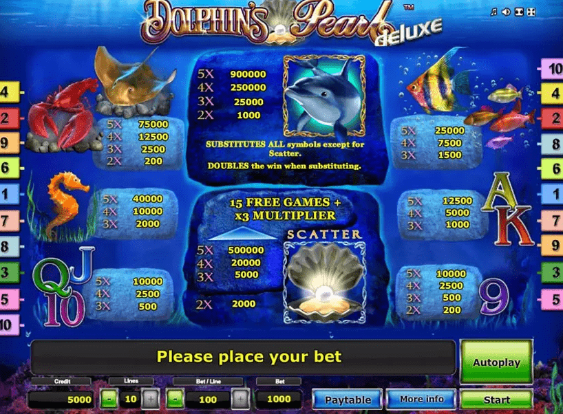 Dolphin Pearl Deluxe 4
