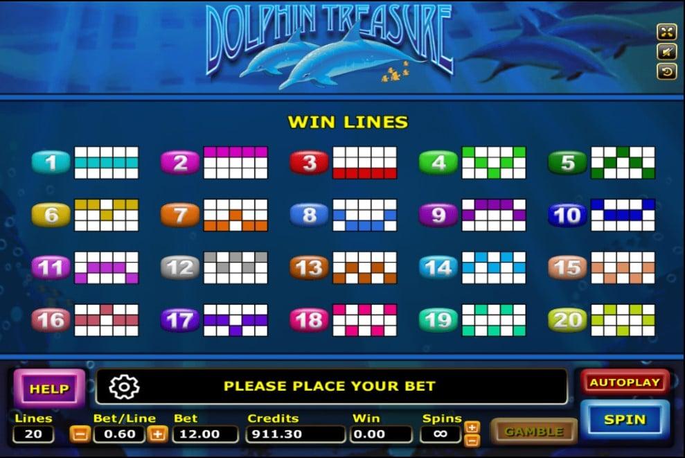 Dolphin Treasure 4