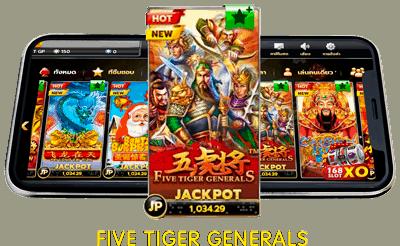 Five Tiger Generals 2