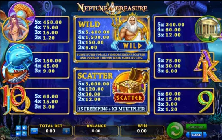 Neptune Treasure 1