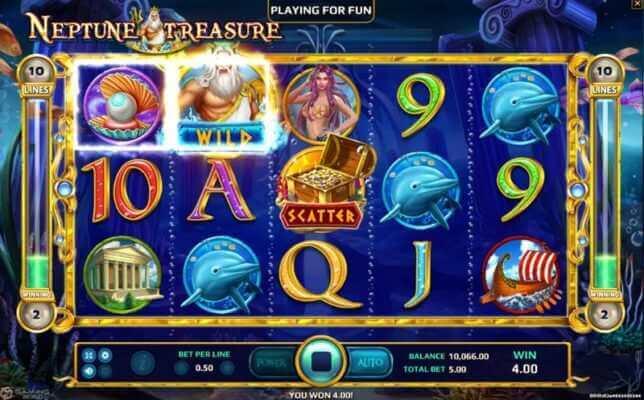 เกมสล็อต-Neptune-Treasure