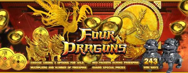 slotxo Four Dragons 4