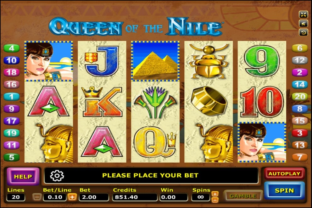 Queen Of The Nile 1