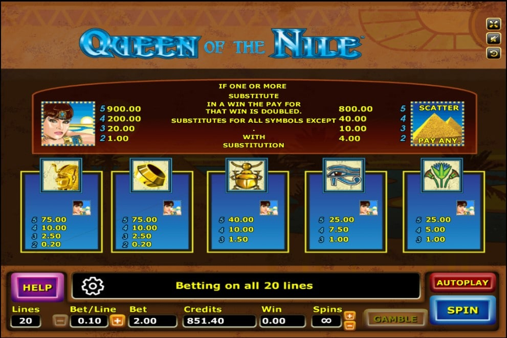 Queen Of The Nile 3