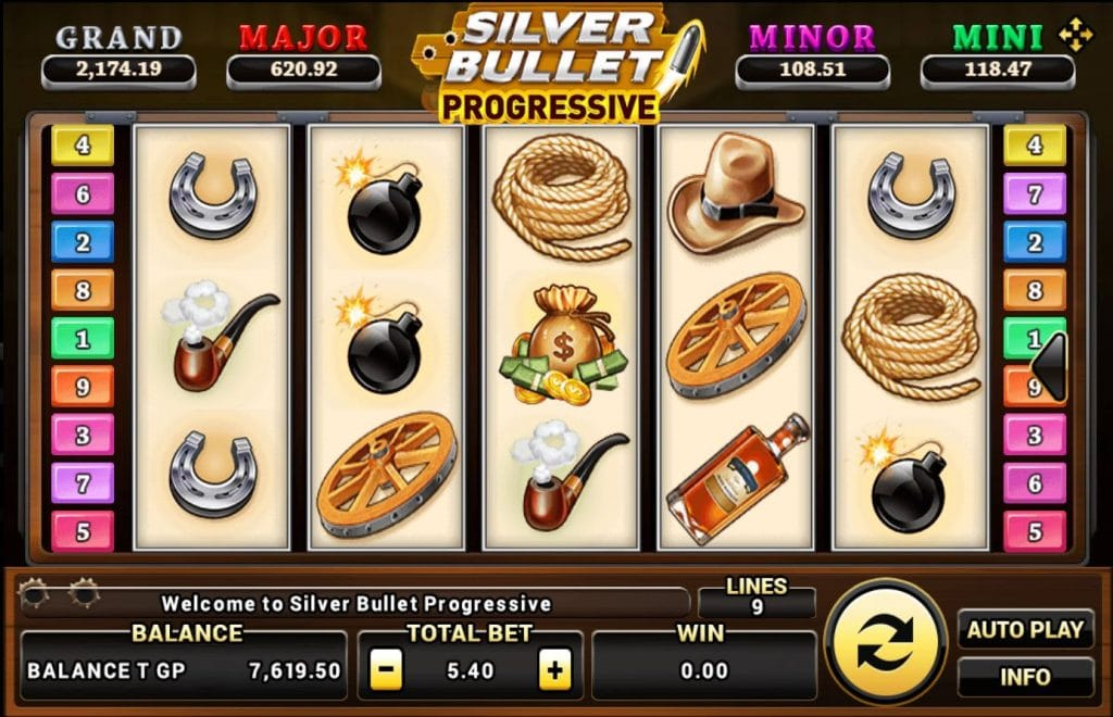 Silver Bullet Progressive 1